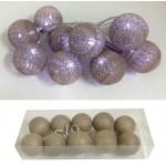 Lampki dekoracyjne - cotton ball