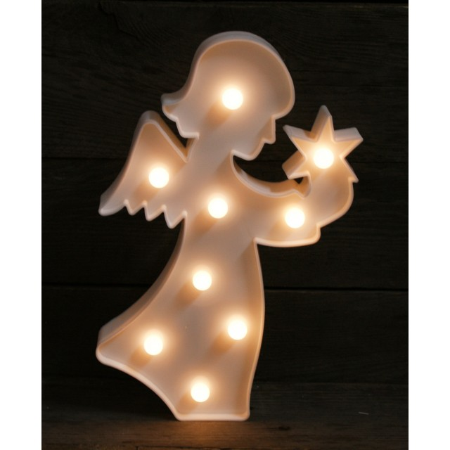 Podświetlana dekoracja - Anioł