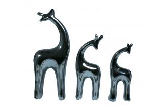 Figurki ceramiczne kpl. 3 szt.