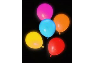 Balony LED 5 szt