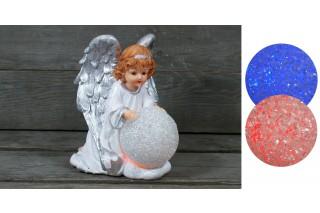 Figurka Anioł podświetlana
