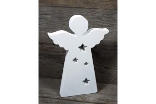 Dekoracja drewniana - anioł