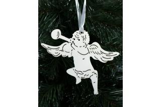 Zawieszka świąteczna - anioł 16/14 cm