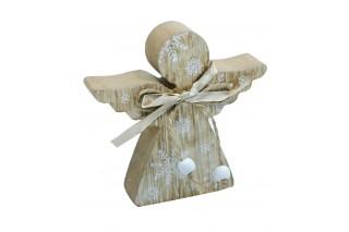 Drewniana dekoracja 12/12 cm