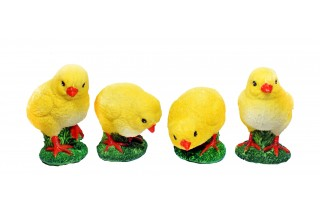 Figurki - Kurczaczki kpl. 4 szt