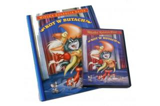 """Książka + Bajka DVD """"Kot w butach"""""""