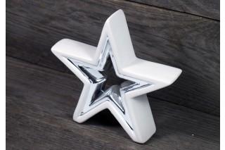 Gwiazdka ceramiczna 14/14 cm
