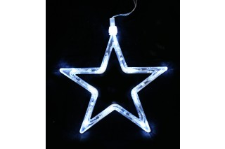 Dekoracja świetlna - gwiazda