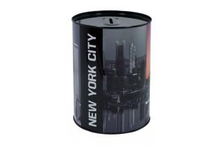 "Skarbonka metalowa ""NEW YORK"" 16 cm"