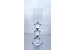 Świecznik kryształowy 22 cm