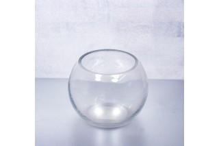 Świecznik szklany 8/10 cm