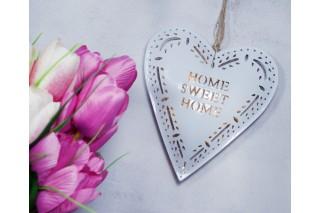 Podświetlana dekoracja - metalowe serce