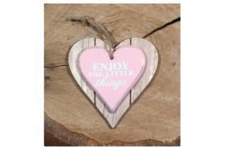 Drewniane serce 12/12 cm