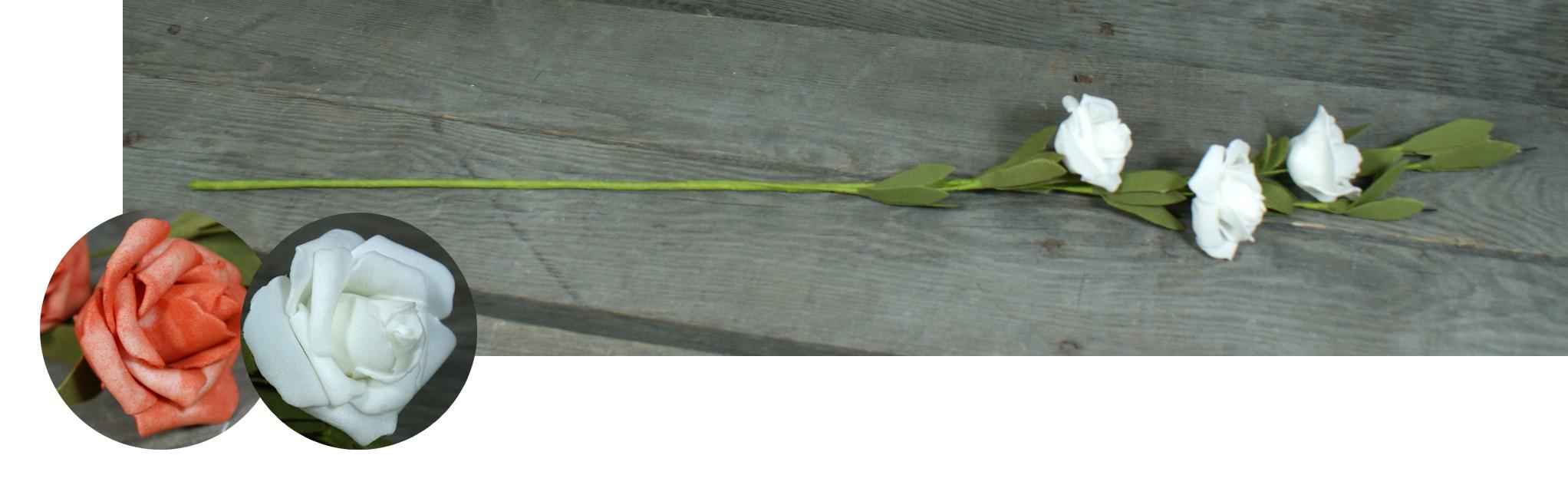 Róża 5 kwiatów