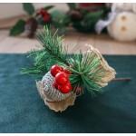 Gałązka świąteczna 17 cm