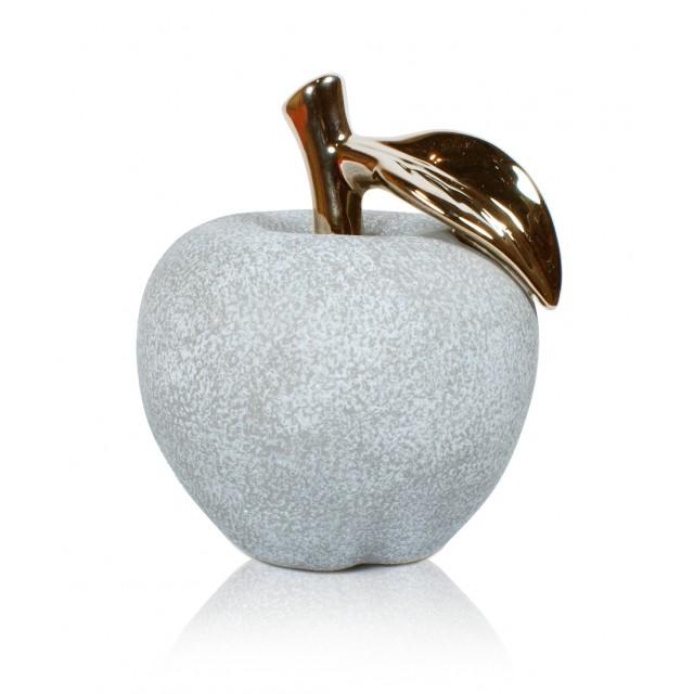 Jabłka - Figurki ceramiczne kpl. 6 szt.