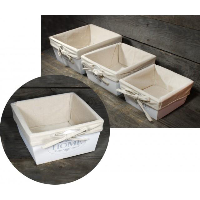 Skrzynki drewniane kpl. 3 szt