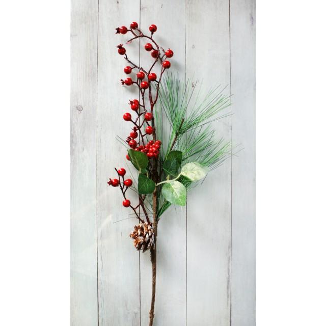 Gałązka świąteczna 60 cm