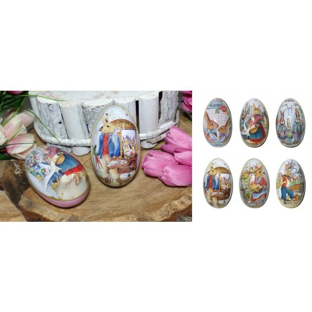 Jajko - puszka metalowa