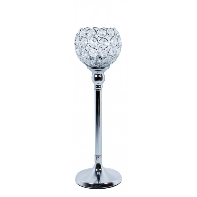 Świecznik z kryształkami VIDRIO 36 cm