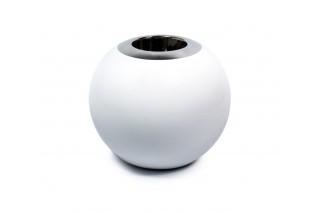 Świecznik ceramiczny - kula