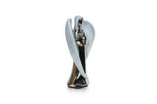 Anioły - ceramiczne figurki kpl. 2 szt.