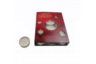 Zestaw świec  typu tealight kpl. 24 szt