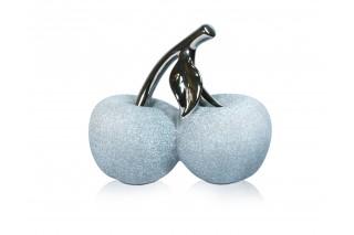 Jabłka - Figurki ceramiczne kpl. 4 szt.