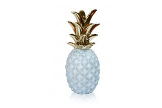 Ananasy - Figurki ceramiczne kpl. 4 szt.