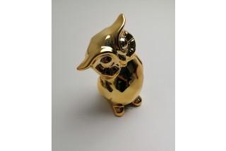 Figurka ceramiczna sowa