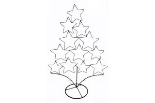 Choinka metalowa/ Drzewo dekoracji świątecznych