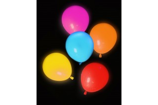 Balony LED 5 szt