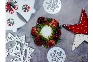 Świecznik świąteczny