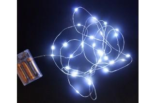 Lampki dekoracyjne - 30 światełek na druciku