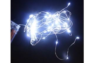 Lampki dekoracyjne - 50 światełek na druciku