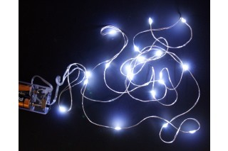Lampki dekoracyjne - 20 światełek na druciku