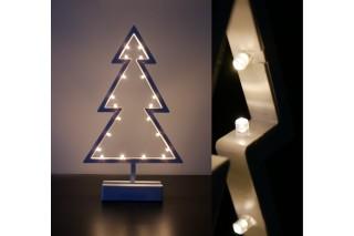 Dekoracyjna lampka świąteczna 38 cm