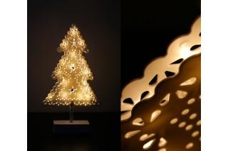 Dekoracyjna lampka świąteczna 39 cm