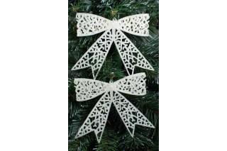 Dekoracja świąteczna - kokarda kpl. 2 szt