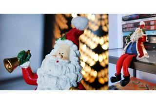 Figurka ceramiczna - Mikołaj