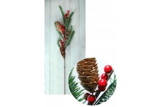 Gałązka świąteczna 75 cm