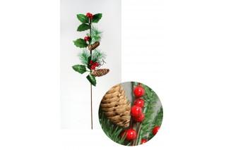 Gałązka świąteczna 70 cm