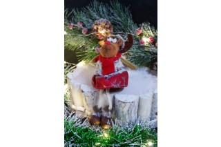 Dekoracja świąteczna 18 cm