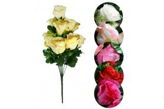 Bukiet sztuczny - Róże 10 kwiatów
