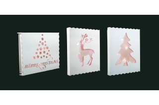 Dekoracja świąteczna podświetlana