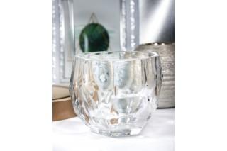 Świecznik szklany 10 cm