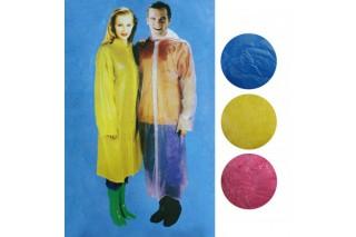 Płaszcz przeciwdeszczowy dla dorosłych z guzikami