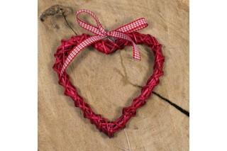 Zawieszka dekoracyjna - serce
