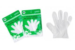 Rękawiczki foliowe kpl. 100 szt.